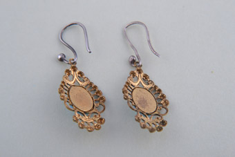 Filigree Hook Earrings