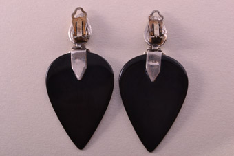 Clip On Drop Earrings