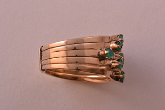 Gold Vintage Harem Ring