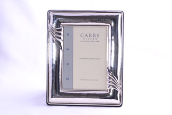 Silver Modern English Picture Frame