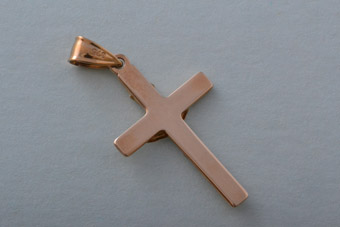 Gold Modern Cross