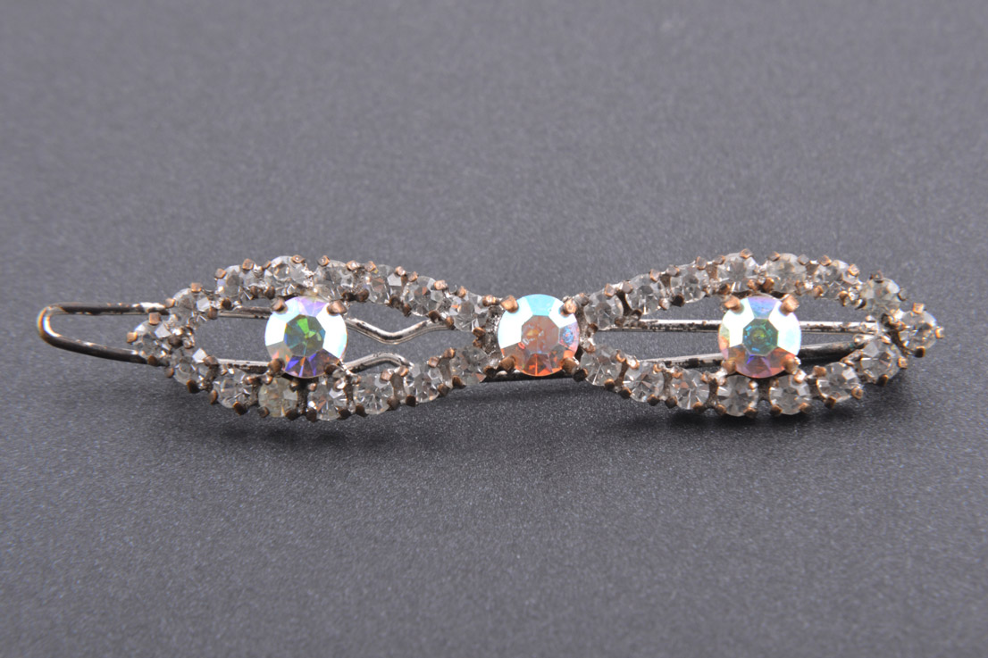 1950's Hair Clip With Rhinestones