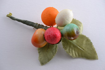 Vintage Fruit Brooch