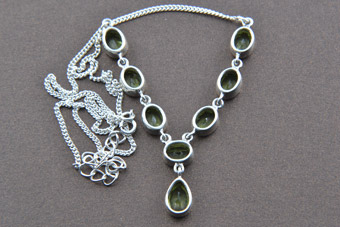 Silver Modern Necklace