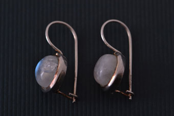 Silver Modern Earrings