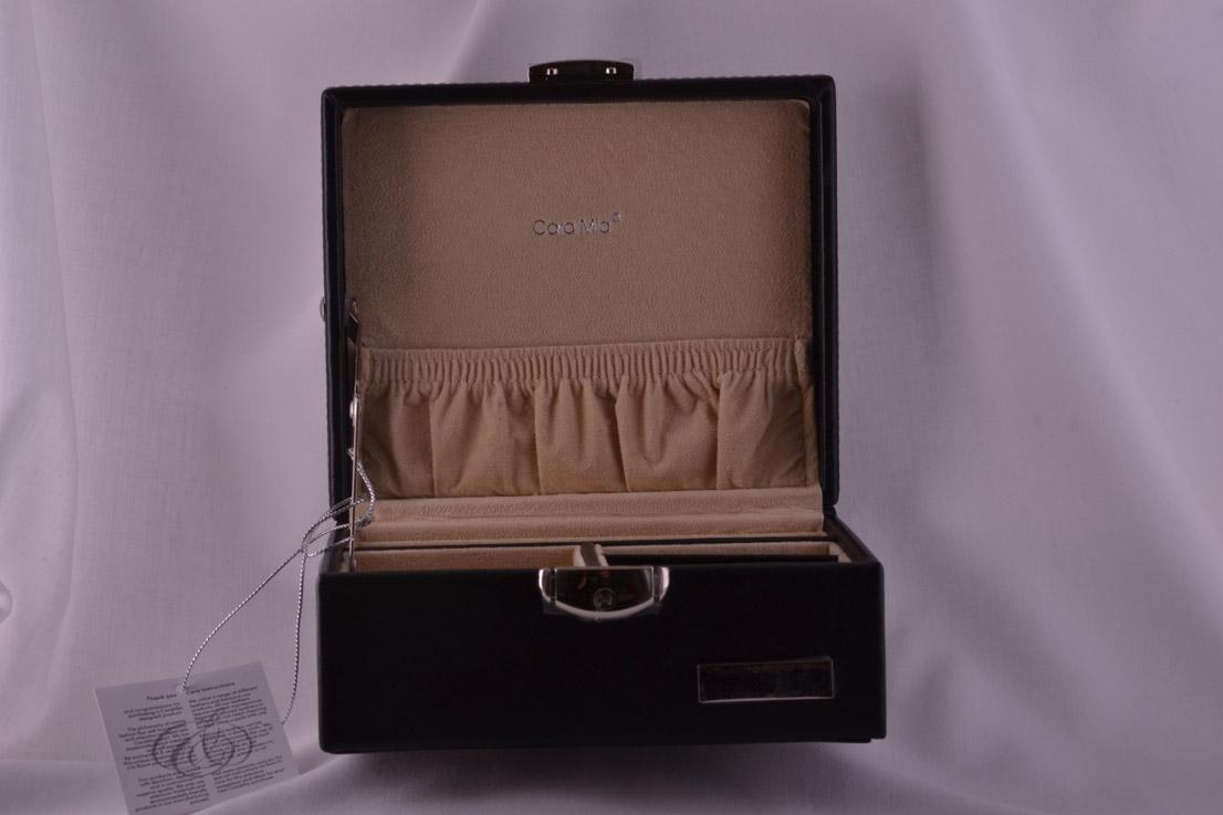 Leather Modern Jewellery Box Modern Accessory Amanda